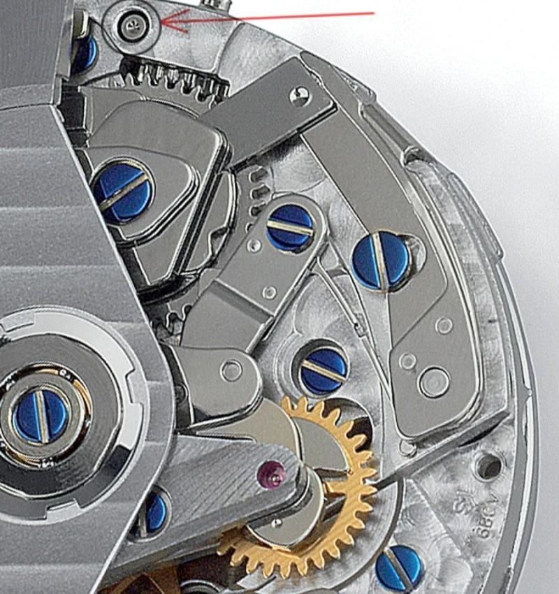 Breitling - comment resserrer la couronne d' un Chronomat Breitling? 775010