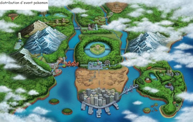 distribution d'Event pokemon