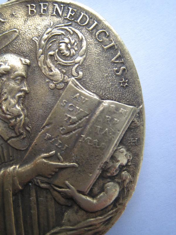 St Pater Benedictus/Sancta Scholastica - XVIIème - graveur à confirmer Pater_12