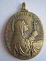 St Pater Benedictus/Sancta Scholastica - XVIIème - graveur à confirmer St_ben14