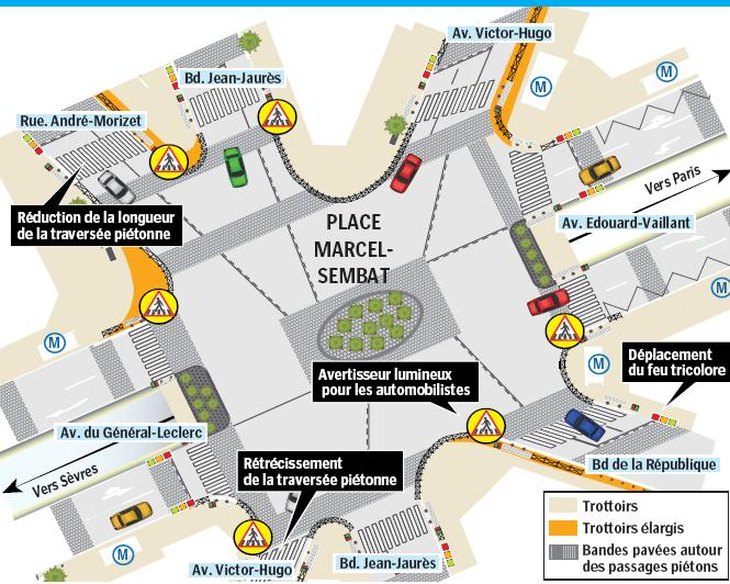 La place Marcel-Sembat réaménagée Raaman10