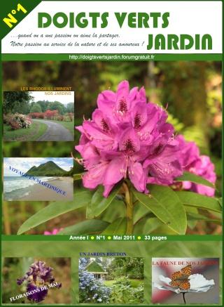 """Le  N°1 du magazine """"Doigts Verts Jardin"""" Revue_13"""