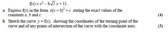 Completing the Square Comple10