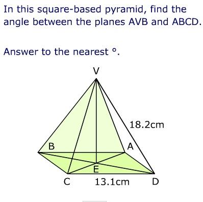 3D trig problem Year1011