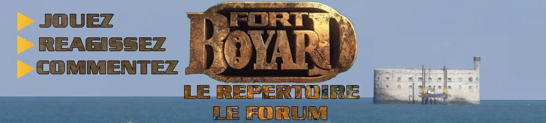 créer un forum : Fort Boyard Le Repertoire - Forum Logo210