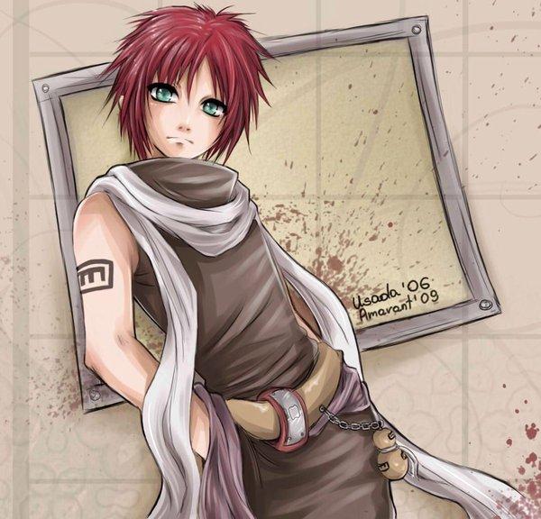 Les plus beaux garçons de mangas! - Page 2 Gaara_10