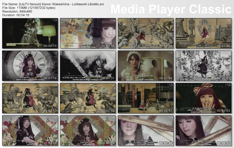 Wakeshima Kanon - Lolitawork Libretto ~Storytelling by Solita~  Lilytv12