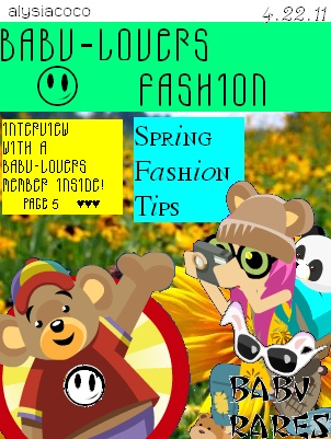 Fashion Magazine--2011 Cover_10