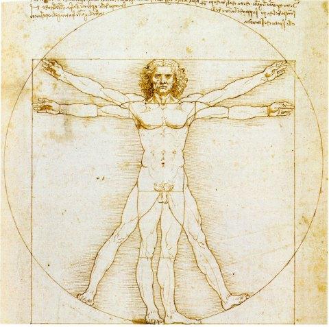 21 - L'Homme de Vitruve de De Vinci De-vin12
