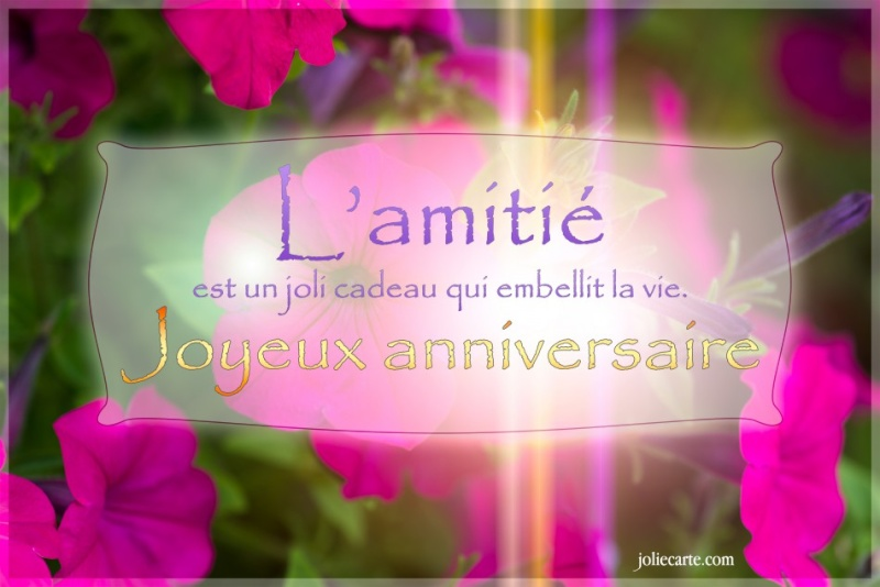 Anniversaire Béa. Amitie11