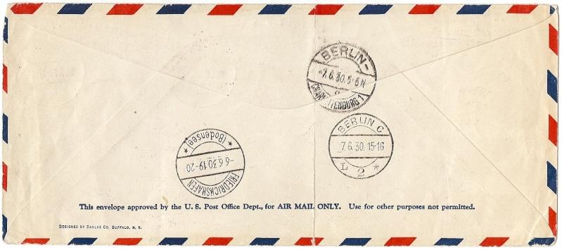 """nach - Südamerikafahrt 1930 (Rundfahrt-) Post nach Friedrichshafen"""" - Seite 6 57_p_b11"""