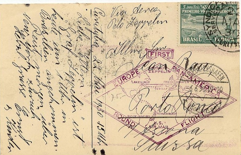 """nach - Südamerikafahrt 1930 (Rundfahrt-) Post nach Friedrichshafen"""" - Seite 6 59_a_c11"""
