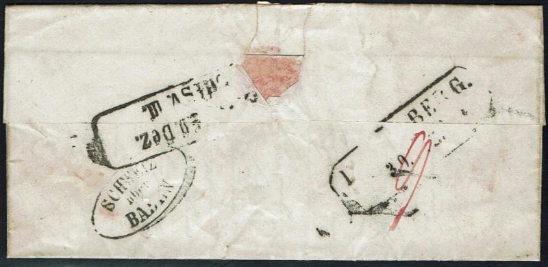 """Schweiz 1854-1863 """"Strubel"""" Sitzende Helvetia Ungezähnt Ch_min11"""