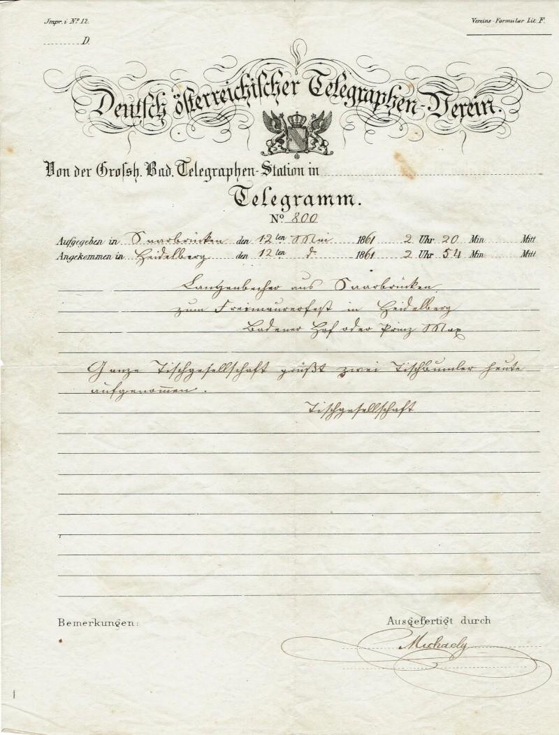 Telegramme aus Altdeutschland Telegr11