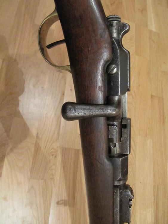 nettoyage d'une carabine de gendarme à pied (Gras Mle 1874 M80) 030-im10
