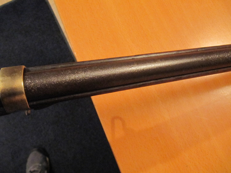 nettoyage d'une carabine de gendarme à pied (Gras Mle 1874 M80) 043-im10