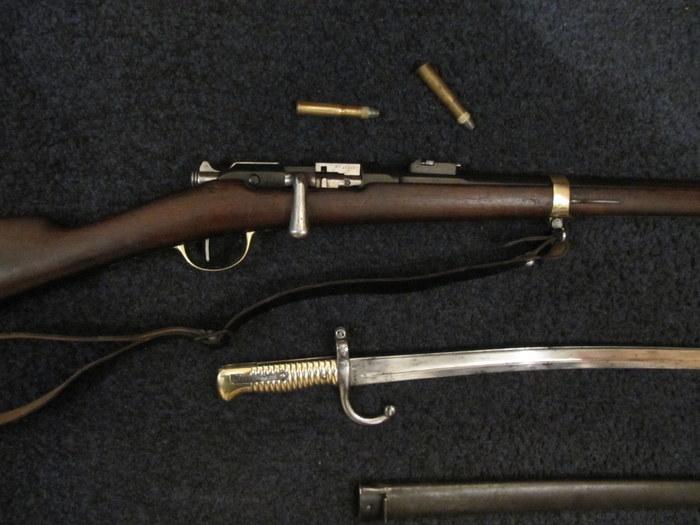 nettoyage d'une carabine de gendarme à pied (Gras Mle 1874 M80) 67-img10
