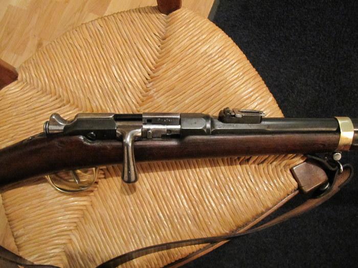 nettoyage d'une carabine de gendarme à pied (Gras Mle 1874 M80) 71-img10
