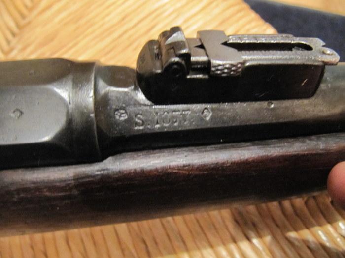 nettoyage d'une carabine de gendarme à pied (Gras Mle 1874 M80) 72-img10