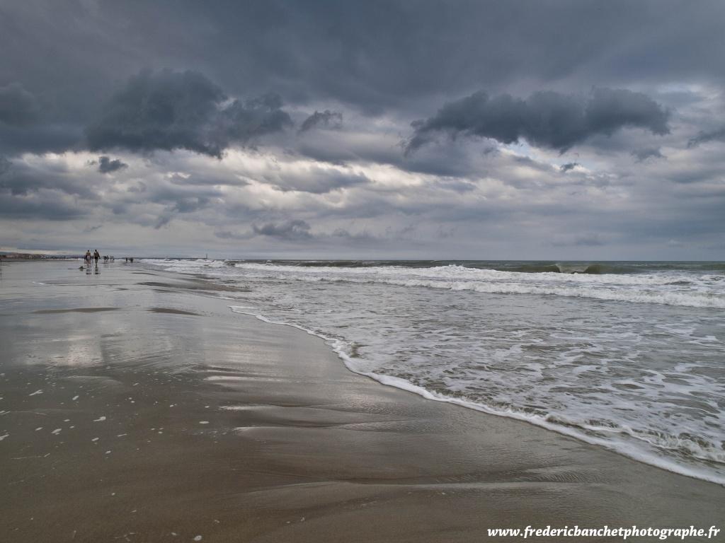 nuages noirs sur la mer Nuages10