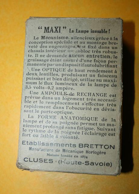 UC de mitrailleuse reibel/ chargeur bois/La sonde d'âme du canon/ et lampe bretton. Zzzzzz12