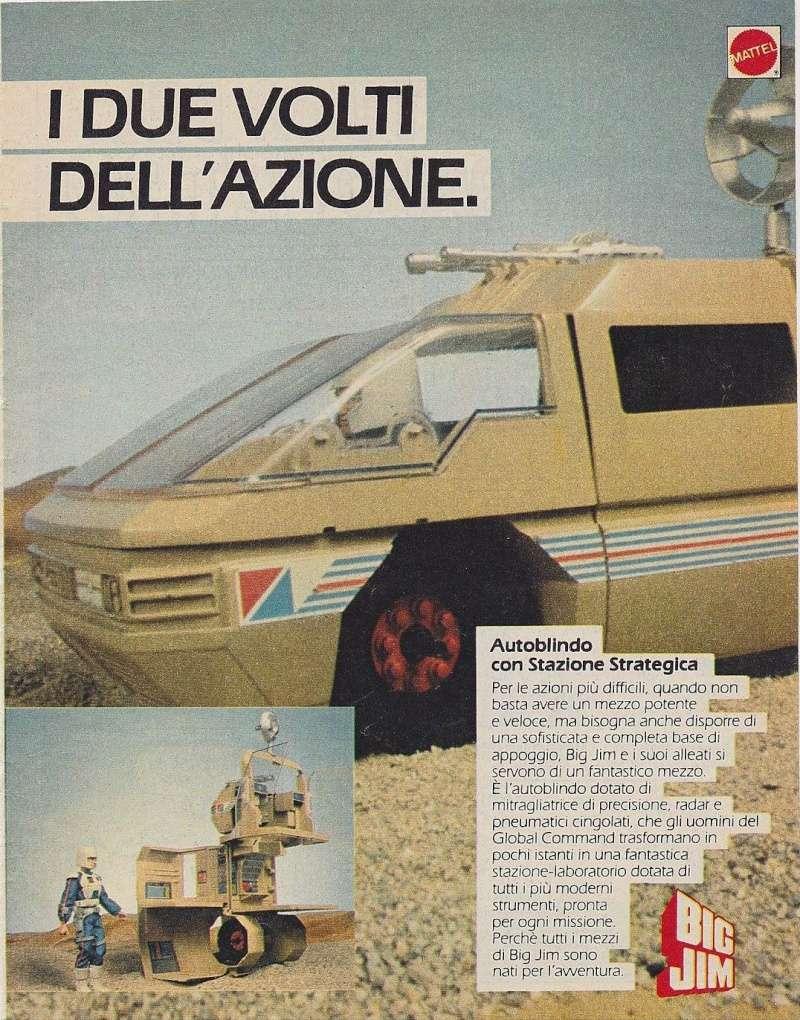 PUBBLICITA' ITALIANE Global Command VS Condor Force _57210