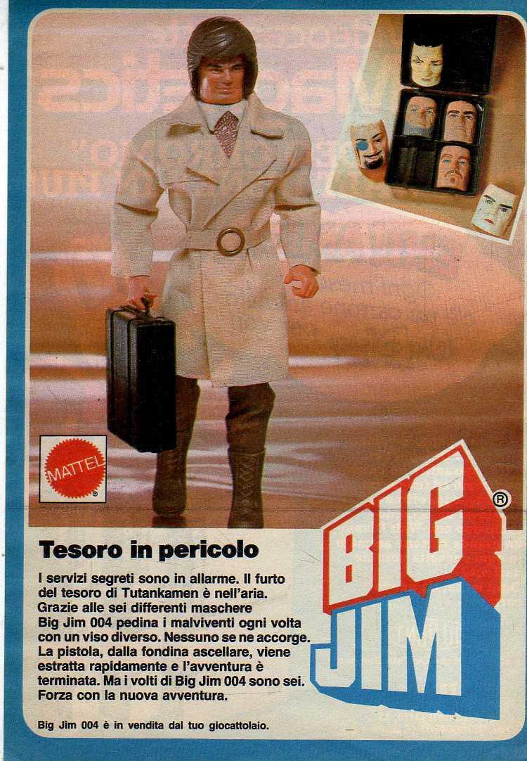 PUBBLICITA'  ITALIANE  DEL PERIODO SPIONAGGIO 1982 - 84 _57e10