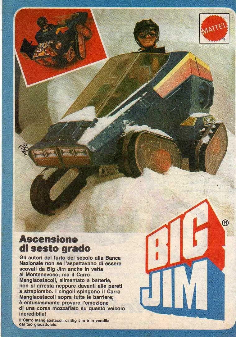 PUBBLICITA'  ITALIANE  DEL PERIODO SPIONAGGIO 1982 - 84 _57k10