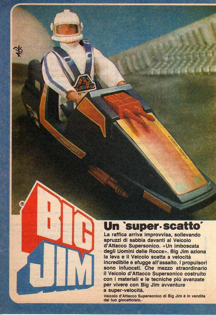 PUBBLICITA'  ITALIANE  DEL PERIODO SPIONAGGIO 1982 - 84 _57s10