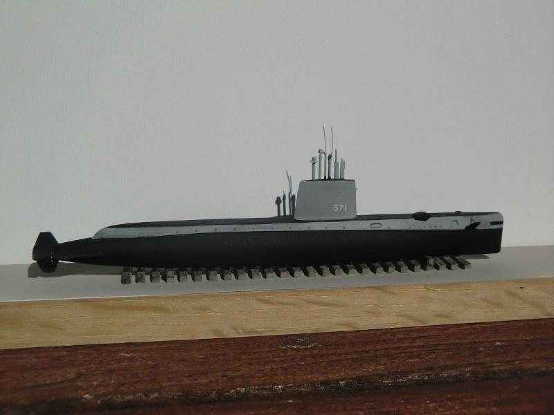 USS Nautilus SSN 571 OKB Grigorov 1/700 Nautil10