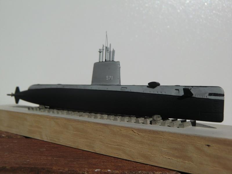 USS Nautilus SSN 571 OKB Grigorov 1/700 Nautil11