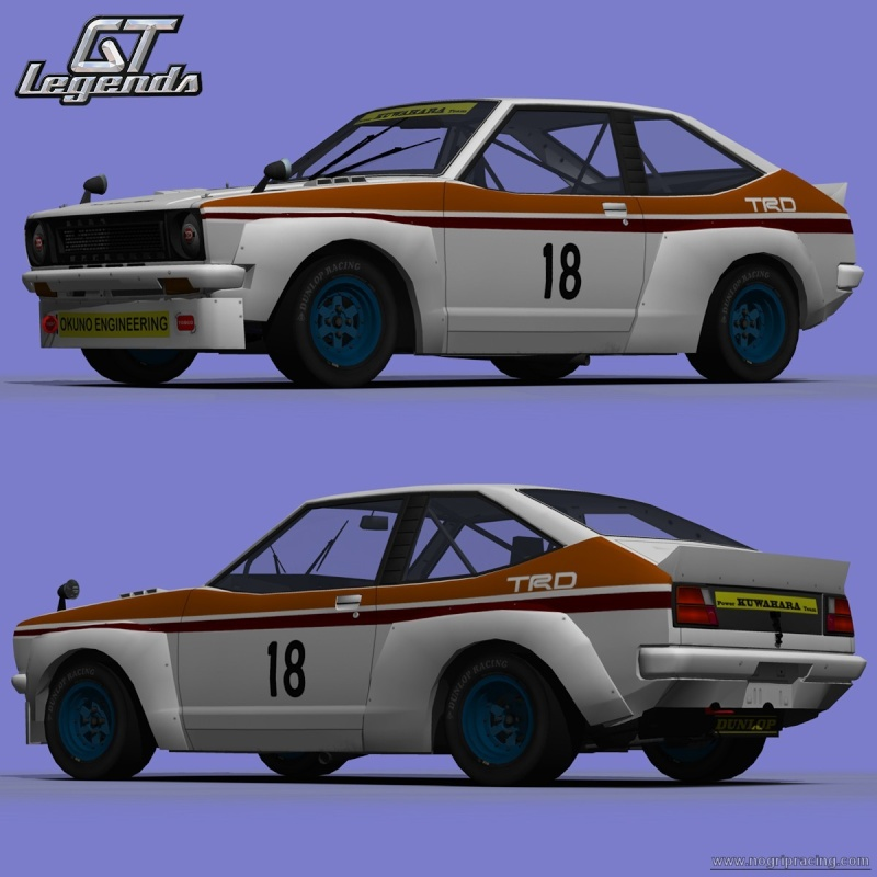 WIP - Toyota Starlet Kp47TS for GTL 15091210