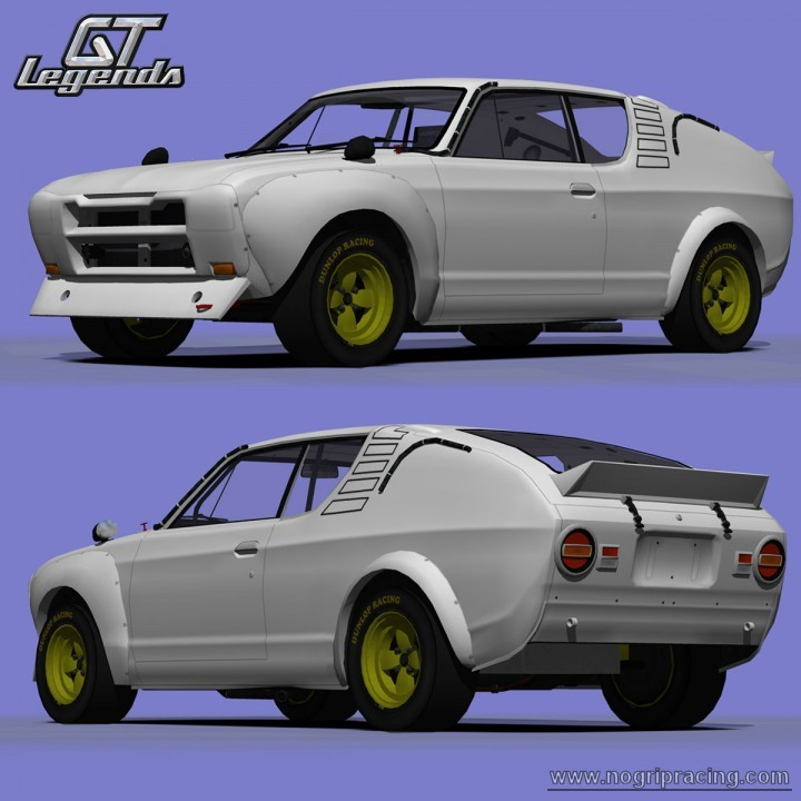 WIP - 1973 Nissan Cherry X-1R Nissan12