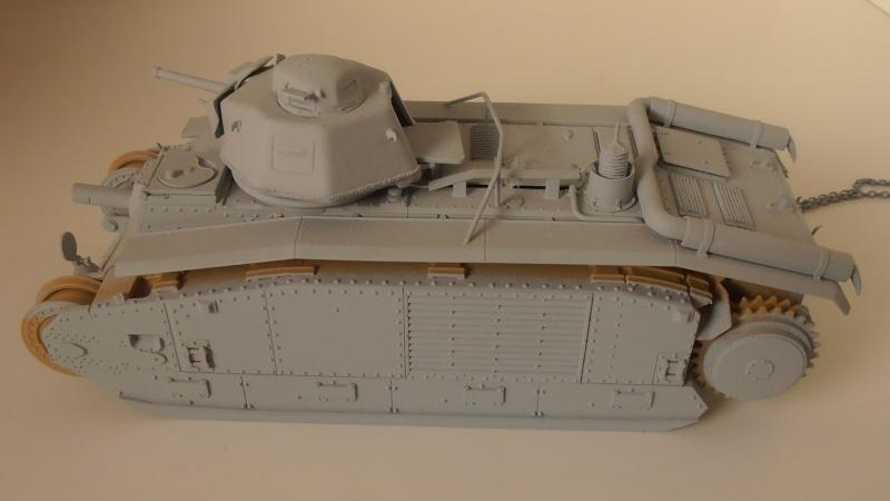 Ancien, nouveau projet ( B1 bis Tamiya, Blast au 1/35ème ) P9091411