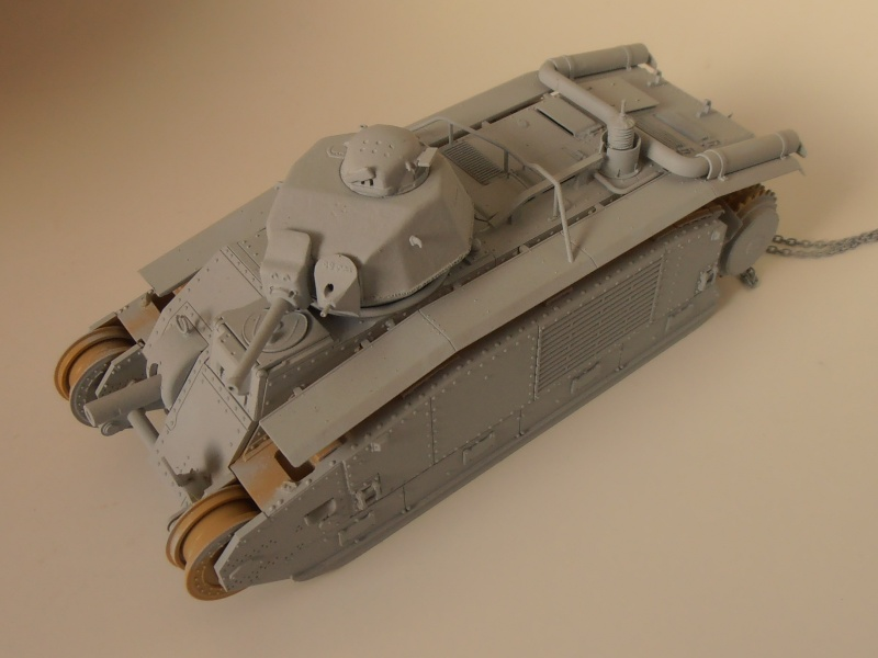 Ancien, nouveau projet ( B1 bis Tamiya, Blast au 1/35ème ) P9091412