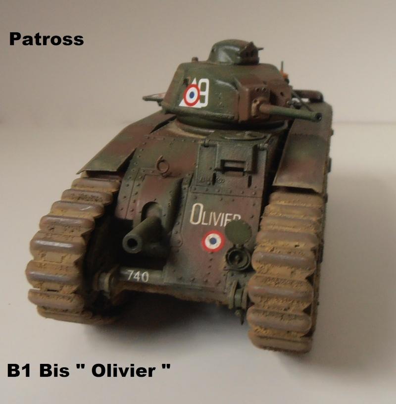 "B1 Bis "" Olivier "" - Tamiya - 1/35 P9121517"