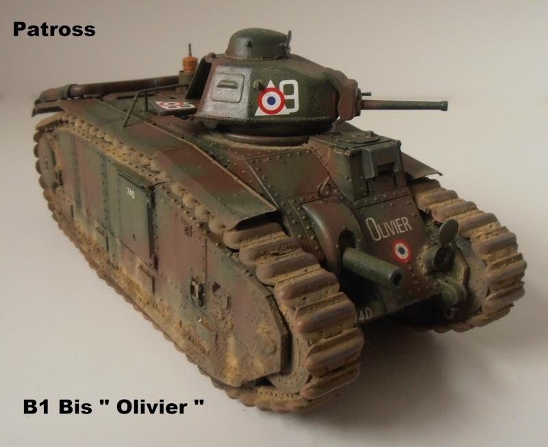 "B1 Bis "" Olivier "" - Tamiya - 1/35 P9121518"