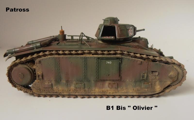 "B1 Bis "" Olivier "" - Tamiya - 1/35 P9121519"