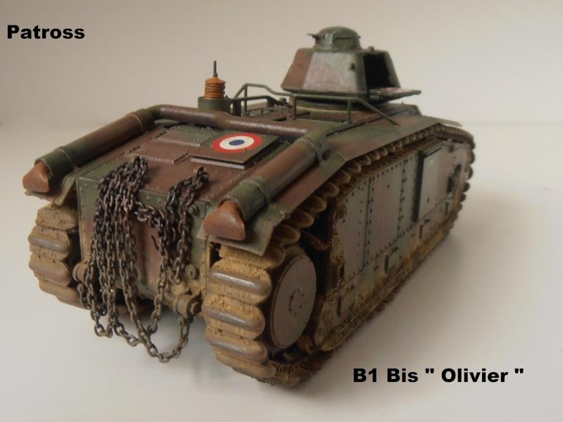 "B1 Bis "" Olivier "" - Tamiya - 1/35 P9121520"