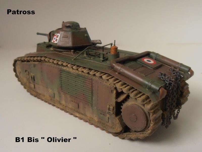 "B1 Bis "" Olivier "" - Tamiya - 1/35 P9121521"