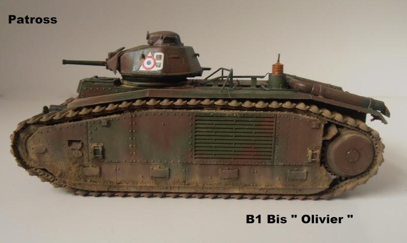 "B1 Bis "" Olivier "" - Tamiya - 1/35 P9121522"
