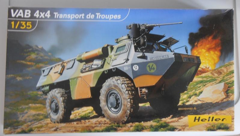 """VAB """" Opération Salamandre """" - 1/35ème - Base Heller + conversion Blast + pneus Djiti Production Pa100110"""