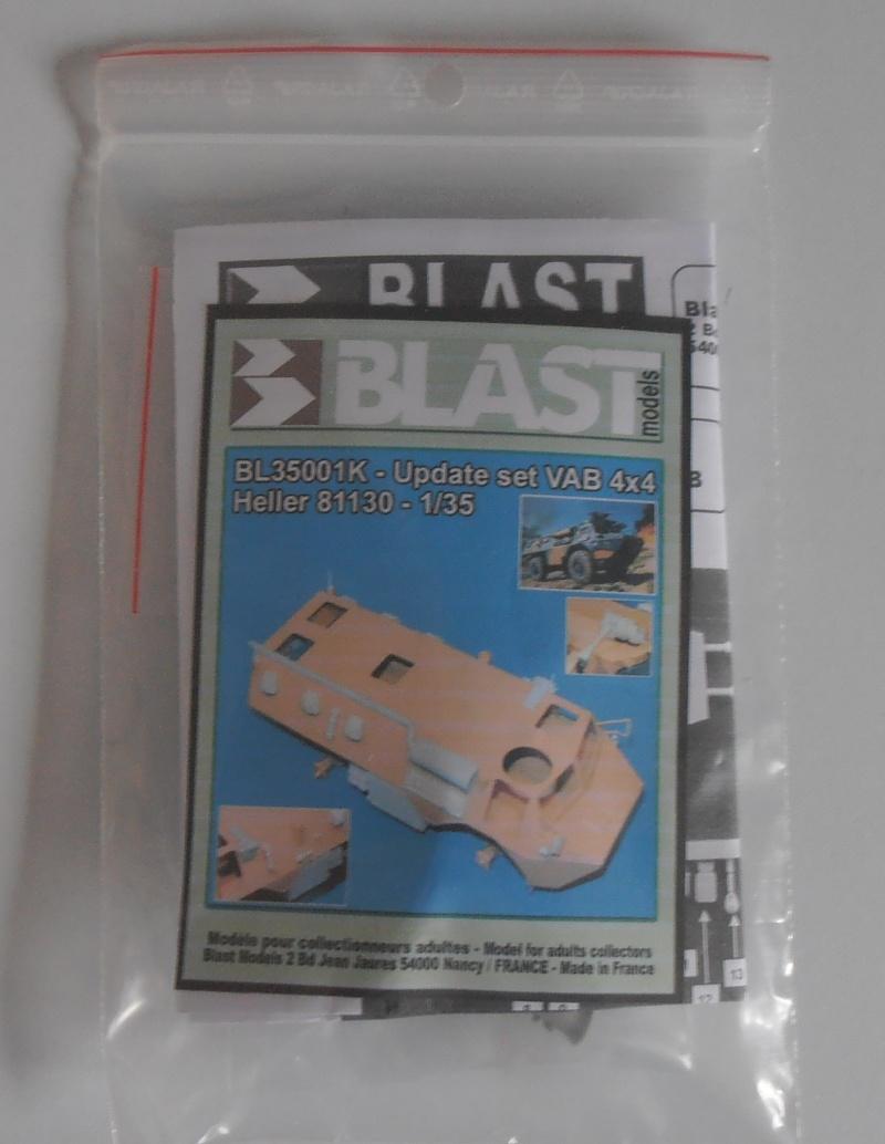 """VAB """" Opération Salamandre """" - 1/35ème - Base Heller + conversion Blast + pneus Djiti Production Pa100111"""