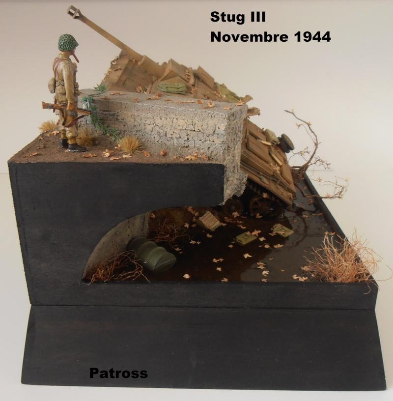 Stug III en mauvaise posture! ( tamiya au 1/35eme ) Pb110524