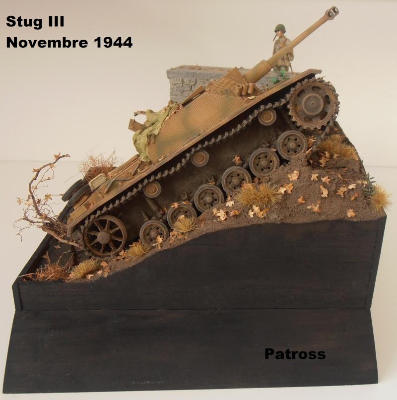 Stug III en mauvaise posture! ( tamiya au 1/35eme ) Pb110526