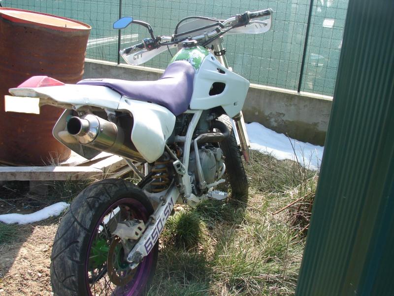 vend pieces 650 klxr super motard et quelque pieces klx Dsc09311
