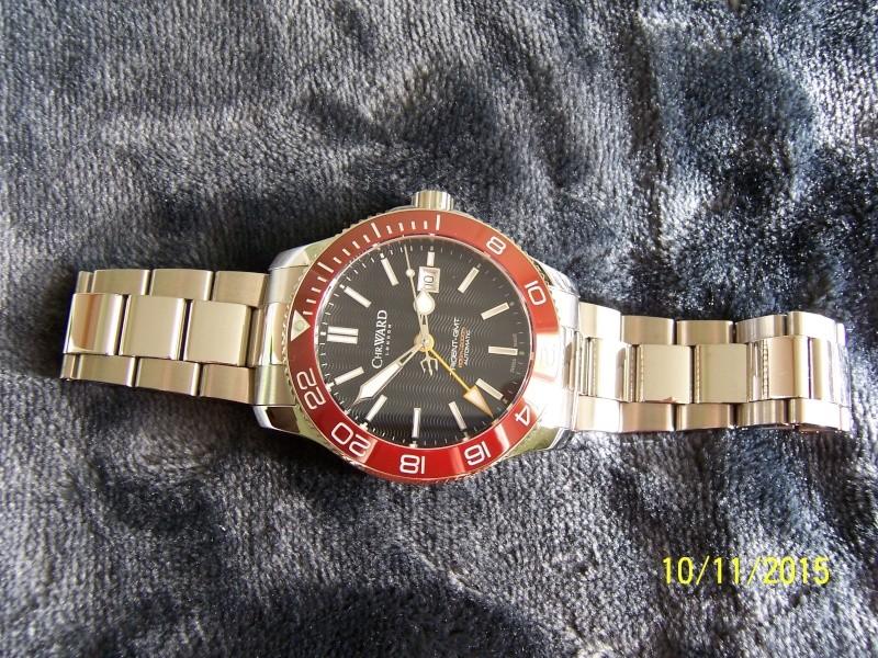 ward - Revue de la montre Christopher Ward TRIDENT C60-GMT600  en version 42 mm. 100_2628