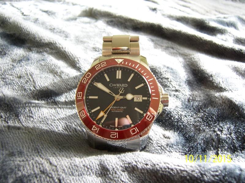 ward - Revue de la montre Christopher Ward TRIDENT C60-GMT600  en version 42 mm. 100_2629