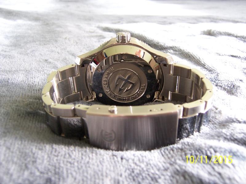 ward - Revue de la montre Christopher Ward TRIDENT C60-GMT600  en version 42 mm. 100_2631