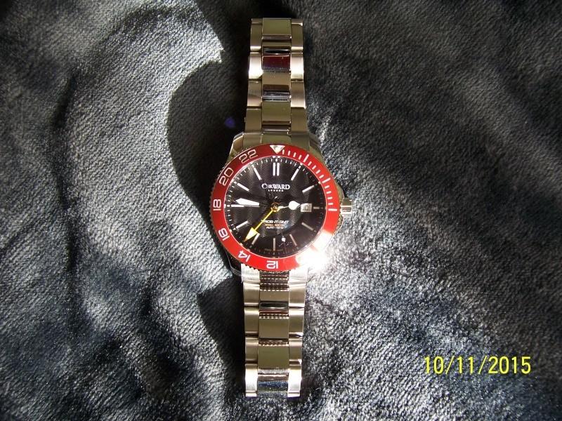 ward - Revue de la montre Christopher Ward TRIDENT C60-GMT600  en version 42 mm. 100_2632